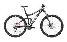 Cube Stereo Super HPC 140 Race 29 zwart